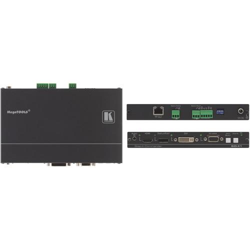 Kramer SID-X1N 4-Input Multi-Format Video over DGKat Transmitter & Step-In Commander