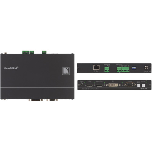 Kramer SID-X1N 4-Input Multi-Format Video over DGKat Transmitter & Step-In Commander