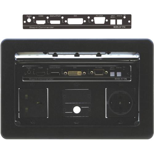 Kramer SID-X3NBP Front Panel for SID-X3N Transmitter (Black)