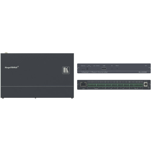 Kramer Compact 16-Port Master/Room Controller with PoE