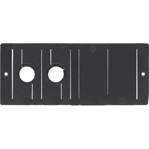 Kramer TBUS Bracket for Installing 4 Inserts in Dual Power Socket Opening