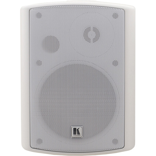 "Kramer Tavor 5−O 5.25"" Two-Way, On-Wall Powered Speakers (Speaker Set, White)"