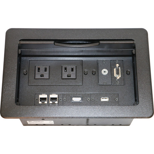 Kramer TBUS-10-C1 Fully Assembled Tabletop Enclosure (Black)