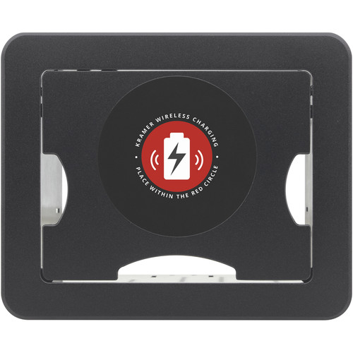 Kramer TBUS-1A Tabletop Enclosure with Integrated Wireless Charging Spot (Black)