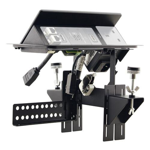 Kramer TBUS-203xl Pop-Up Table-Mounted Multi-Connection Unit (Black)