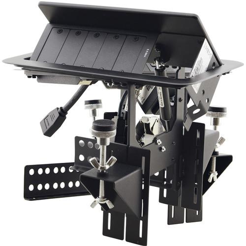 Kramer TBUS-203xl Pop-Up Table-Mounted Multi-Connection Unit (Brushed Aluminum)