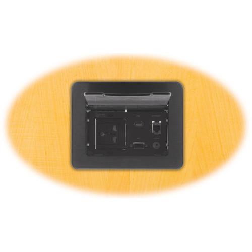 Kramer TBUS-5xl Table Mount Modular Multi-Connection Solution (Black)