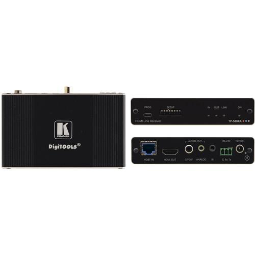 Kramer TP-580RA HDMI/RS-232/IR & Stereo Audio Long Range HDBaseT Twisted Pair Receiver