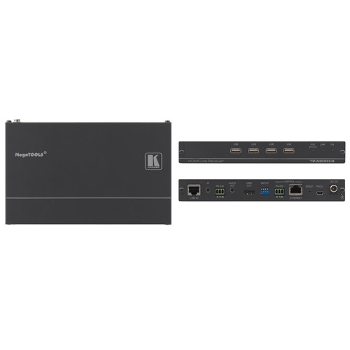 Kramer 4K UHD HDMI/Audio/USB/RS-232/IR over HDBaseT 2.0 Twisted Pair Receiver