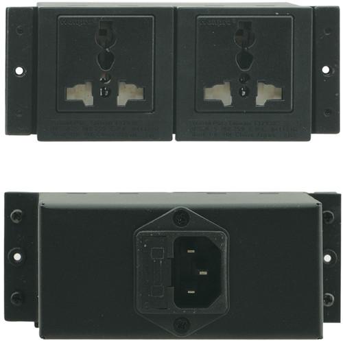 Kramer TBUS Dual Power Socket (Universal Plug)