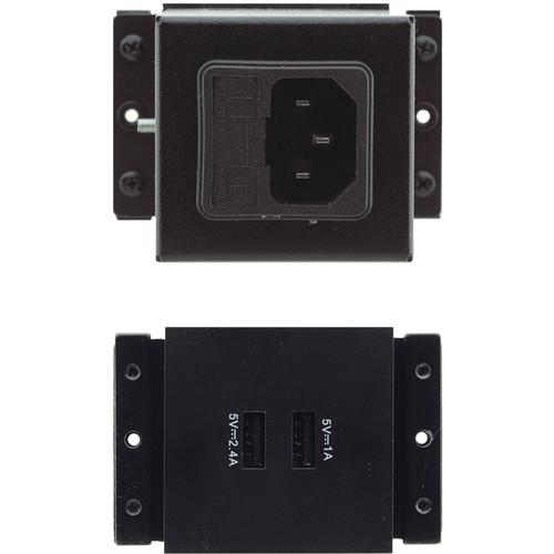 Kramer Dual USB?Type-A Charging in Power Bracket Module