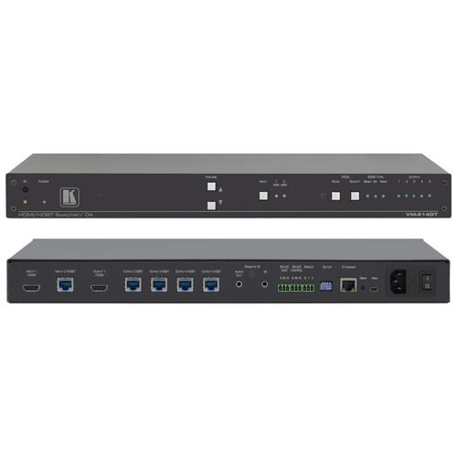 Kramer 2x1:4 4K UHD HDMI and HDBaseT Distribution Amplifier