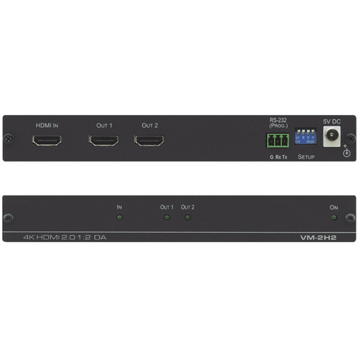 Kramer 1:2 4K60 HDMI 2.0 Distribution Amplifier