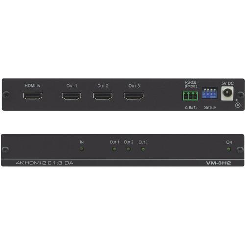 Kramer 1:3 4K60 HDMI 2.0 Distribution Amplifier