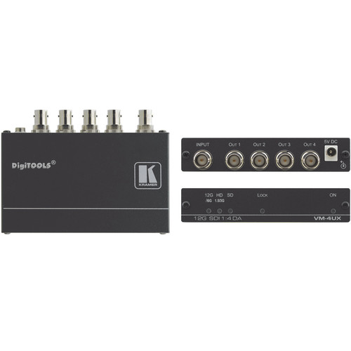 Kramer VM-4UX 1:4 4K 12G-SDI Distribution Amplifier