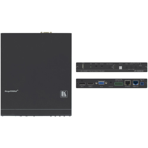 Kramer 4K60 4:4:4 HDMI, VGA & DisplayPort Auto Switcher/Scaler and PoE Provider over HDBaseT