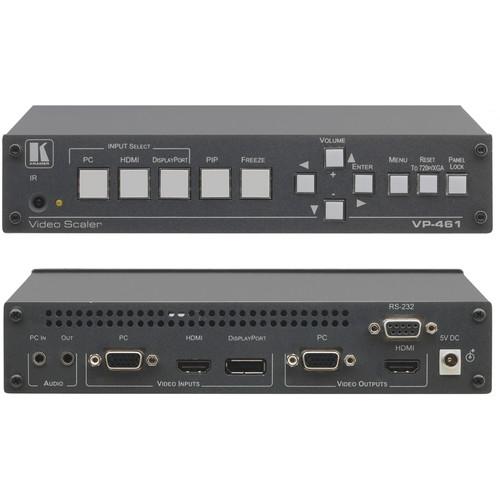 Kramer VP-461 3-Input Analog & HDMI ProScale Presentation Switcher/Scaler