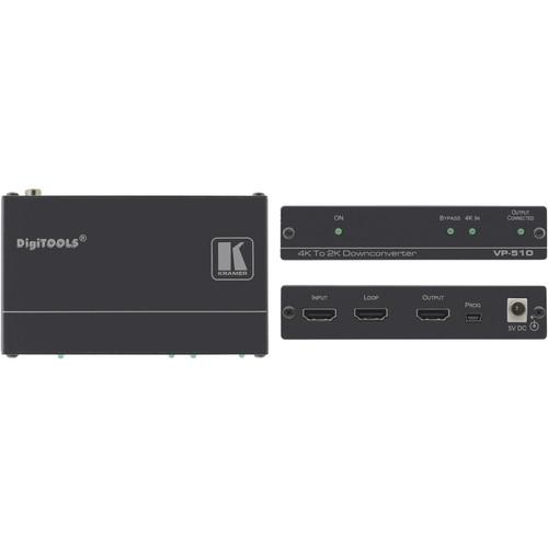 Kramer HDMI 4K to 2K Scaler/Down-Converter with Looping Input