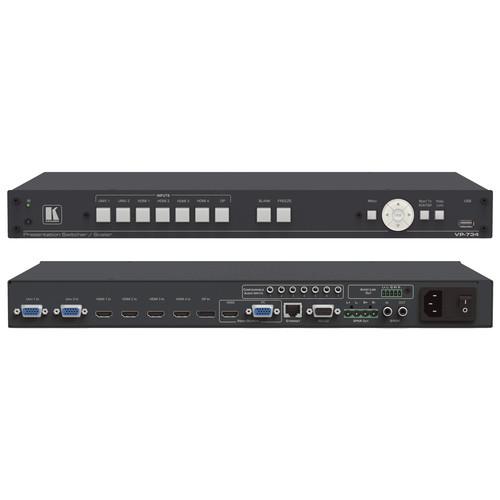 Kramer 7-Input 4K UHD Presentation Switcher/Scaler