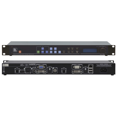 Kramer 9-Input 4K UHD HDBaseT and Legacy Presentation Scaler Switcher