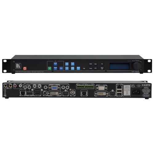 Kramer 9-Input UHD 4K HDBaseT & Legacy Scaler/Switcher with Analog Audio