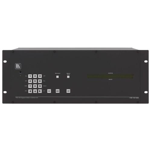 Kramer VS-1616DT 2 x 2 to 16 x 16 Modular Multi-Format Digital Matrix Switcher for HDBaseT Modules
