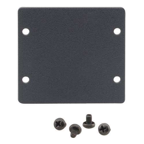 Kramer Double Insert Blank Slot Cover Plate (Gray)