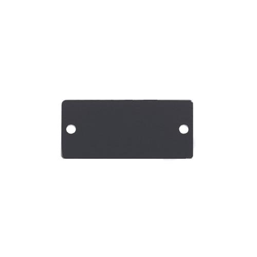 Kramer Blank Wall Plate Insert (Gray)