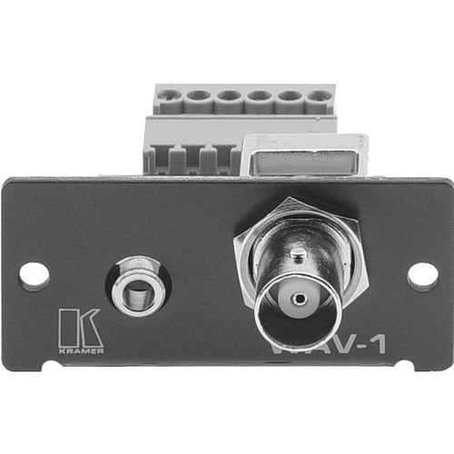 Kramer BNC+Mini Headphone Connector to Terminal Block A
