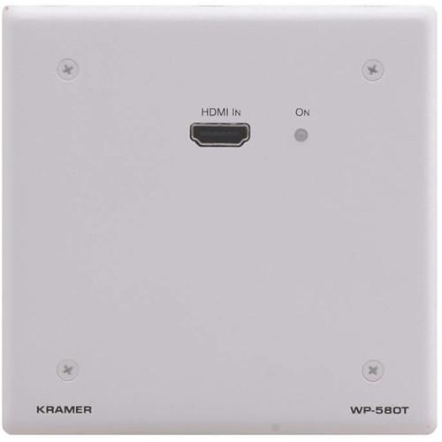 Kramer HDMI over HDBaseT Twisted Pair Wall Plate Transmitter (Decora, Black)