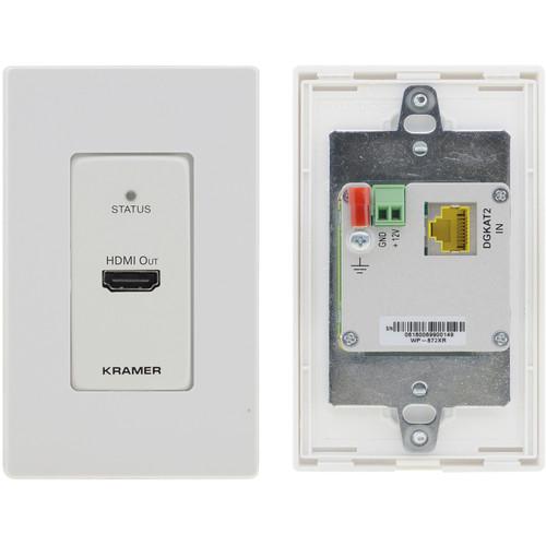 Kramer WP-872XR 4K HDR HDMI Wall-Plate PoC Transmitter over Long-Reach DGKat 2.0