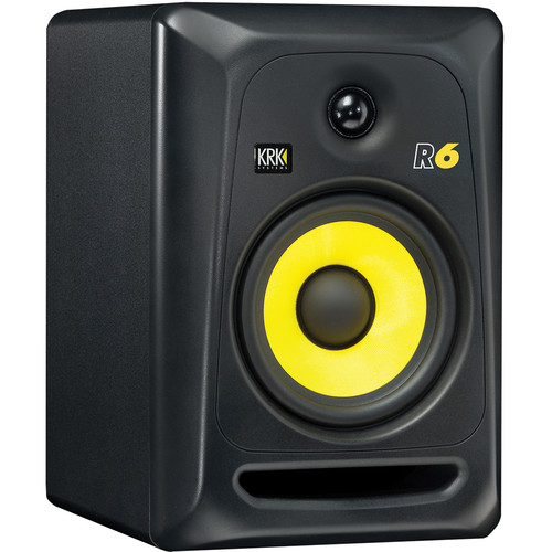 "KRK R6 - 6"" Two-Way Passive Studio Monitor (Single)"