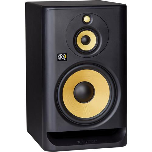 "KRK ROKIT 10 G4 10"" 3-Way Active Studio Monitor (Single, Black)"