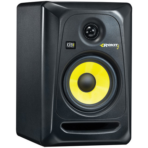 "KRK Rokit 5 G3 - 50W 5"" Two-Way Active Studio Monitor (Single, Black)"