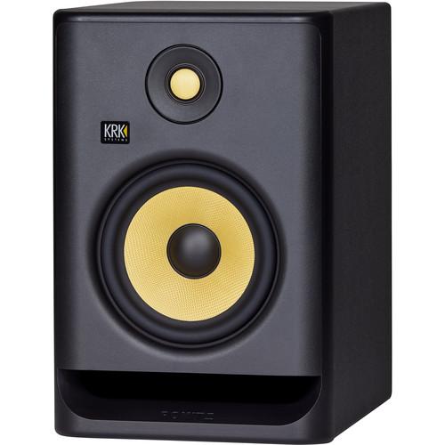 "KRK ROKIT 7 G4 7"" 2-Way Active Studio Monitor (Single, Black)"