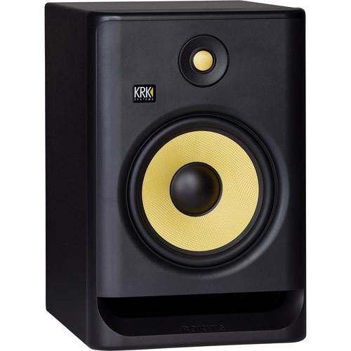 "KRK ROKIT 8 G4 8"" 2-Way Active Studio Monitor (Single, Black)"