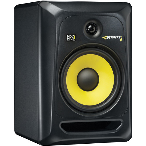 "KRK Rokit 8 G3 - 100W 8"" Two-Way Active Studio Monitor (Single)"