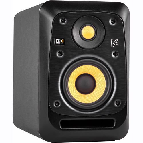 "KRK V4S4-NA V Series - 85W 4"" Powered Reference Monitor"