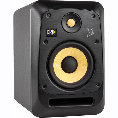 "KRK V6 Series 4 155W 6.5"" Powered Reference Monitor (Black)"