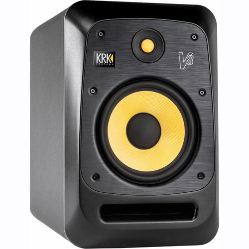 "KRK V8S4-NA V Series - 230W 8"" Powered Reference Monitor"