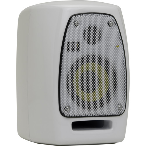 "KRK VXT4 - 45W 4"" Two-Way Active Nearfield Studio Monitor (Single, White)"