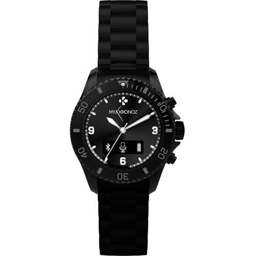 Kronoz ZeClock Analog Smartwatch (Black)
