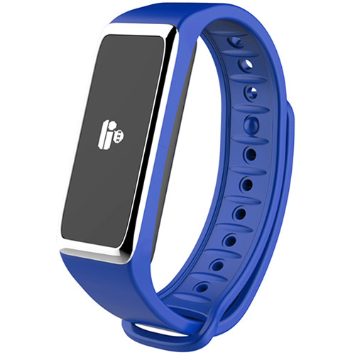 Kronoz ZeFit2 Activity Tracker with Smart Notifications (Blue/Silver)