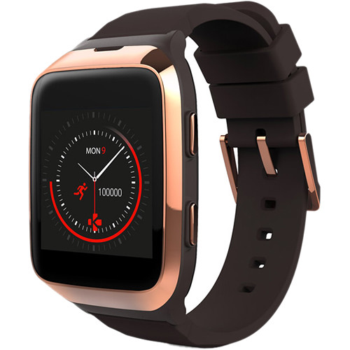 Kronoz ZeSplash2 Smartwatch (Brown)