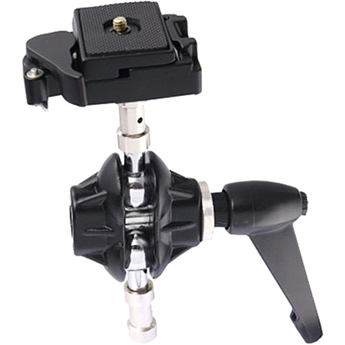 """Kupo Swiveling Adapter Camera Mount with Quick Release and 1/4""""-20 Screw"""