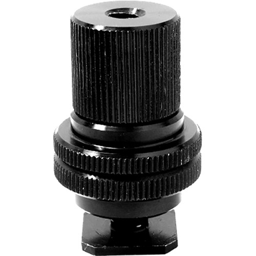 "Kupo Hot Shoe Adapter 3/8""-1/4"" with Barrel Adapter"