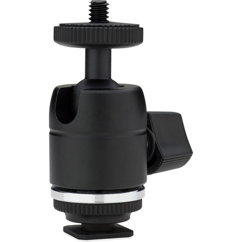 Kupo Mini Ball Head with Hot Shoe Adapter