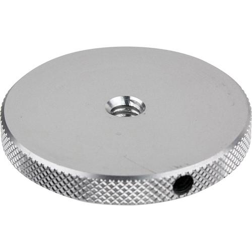 "Kupo Round Knurled Flange Disc with 1/4""-20 Female Thread (1.77"")"