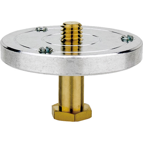 """Kupo 3/8""""-16 Male Threaded Hex Mounting Plate with 5/8"""" Hex Stud"""