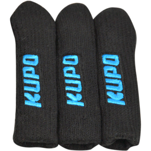 Kupo Stand Leg Protector (Set of 3) - Black